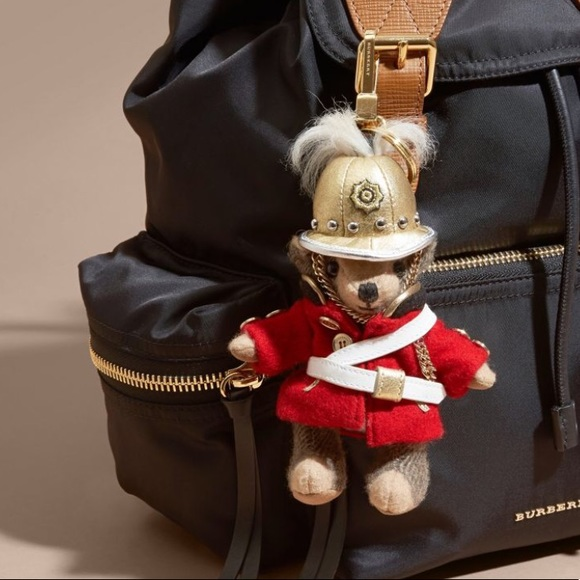 Thomas Bear Charm with Rucksack - Multicolour Burberry bHJoEc1